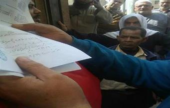 بالصور.. تظاهر العشرات من أصحاب المخابز بالشرقية احتجاجًا على تحصيل مبالغ مالية للكارت الذهبي