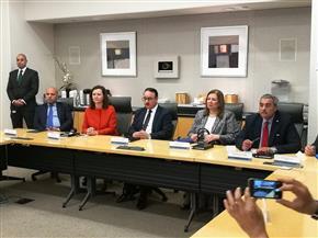 بالصور.. وزير الاتصالات يبحث تعزيز الاستثمارات الأمريكية ويلتقي عددا من الشركات العالمية