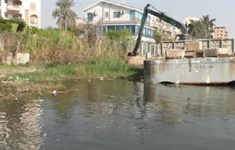 """""""المسطحات المائية"""" بالإسكندرية تواصل حملاتها لإزالة التعديات على بحيرة مريوط"""