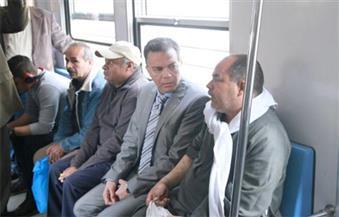 بالصور.. وزير النقل يتفقد الخط الأول لمترو الأنفاق.. ويُشدد على ضرورة استغلال مول محطة منشية الصدر