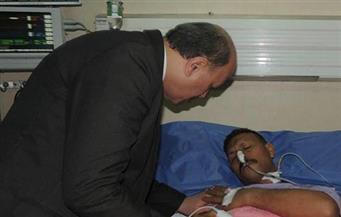 بالصور.. مدير أمن الشرقية يزور خفيرًا نظاميًا أصيب بطعنة علي يد مجهولين