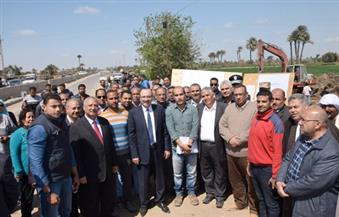 في العيد القومي لبني سويف: التنفيذيون والمواطنون يحتفلون ببدايات العمل في محور عدلي منصور