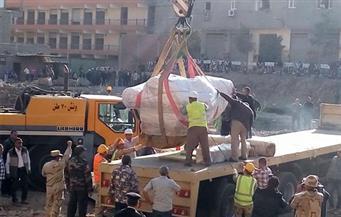 """محمود عفيفي لـ""""بوابة الأهرام"""": سيتم تحديد هوية """"تمثال المطرية"""" بعد قراءة نقوشه إثر نقله للمتحف المصري"""