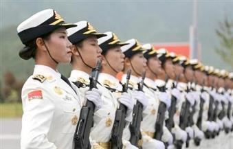 الجنديات الصينيات اللاتي يقمن بمهام الحراسة في خليج عدن