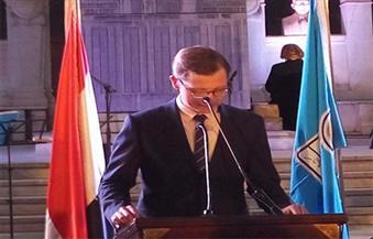 مستشار السفارة الألمانية في احتفالية تمثال المطرية: أعمال الحفر تمت في أصعب الظروف
