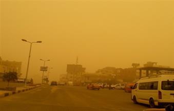 عاصفة ترابية تضرب مدن البحر الأحمر وإغلاق ميناء الغردقة وعدد من المدارس