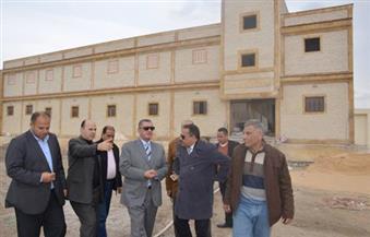 بالفيديو والصور.. محافظ كفر الشيخ يتفقد إنشاءات مستشفى برج البرلس بتكلفة 70 مليون جنيه