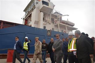 بالصور.. محافظ كفرالشيخ يشهد الاحتفال بانتهاء أعمال تطوير ميناء البرلس