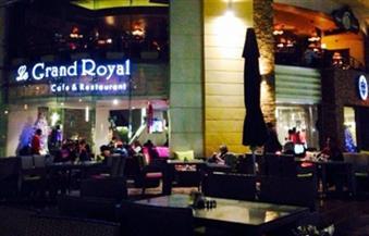 """إغلاق وتشميع مطعم """"جراند رويال"""" في مصر الجديدة لانتهاء عقد الإيجار"""