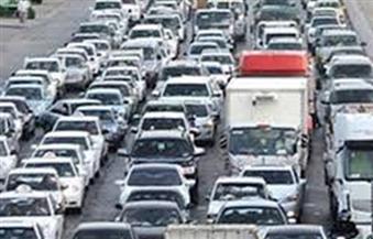 كثافات مرورية بنفق الأزهر باتجاه وسط البلد بسبب تصادم سيارة بدراجة بخارية
