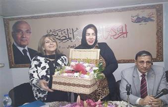 الحركة الوطنية يختار رضوى مصطفى الأم المثالية للحزب