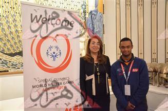 بالصور.. وزيرة التضامن تلتقي أعضاء بعثة الأوليمبياد الخاص المشاركة في بطولة الألعاب الشتوية بالنمسا
