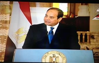 السيسي: اللاجئون في مصر يعيشون حياة كريمة وسط المصريين.. ونستخدم السلاح في حالة واحدة