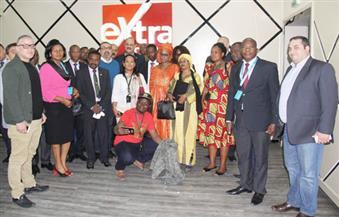 """وفد إعلامي إفريقي من ٢٥ دولة يزور قناة """"إكسترا نيوز"""""""