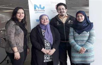 فريق بحثي بجامعة النيل يتمكن من تصنيع الأكياس البلاستيكية من قشور الجمبري