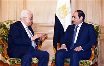 الرئيس السيسي يستقبل نظيره الفلسطيني ورئيس حكومة الوفاق الليبية في الدمام