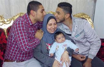 الأم المثالية ببني سويف.. قصة كفاح لتربية 3 أبناء استمرت 20 عامًا