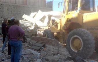 إزالة 27 حالة تعد على حرم ترعة المريوطي غرب الإسكندرية