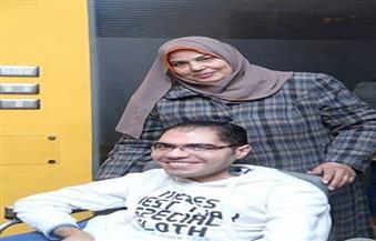 عفاف سالم تفوز بلقب الأم المثالية لذوى الاحتياجات الخاصة على مستوى الجمهورية