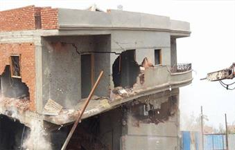 إزالة 9 حالات تعد على نهر النيل بمساحة 8 أفدنة في مركز ميت غمر بالدقهلية