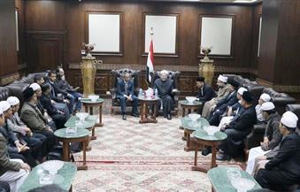 المفتي يستقبل وفدًا دينيًّا إندونيسيًّا لبحث تعزيز التعاون
