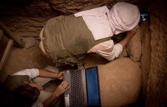 """بالصور.. الآثار: اكتشاف غرفة دفن كاملة وسليمة لشقيق أحد حكام جزيرة """"إلفنتين"""""""