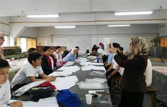 بالصور.. ورش عمل لطلاب المدارس والجامعات بكلية الفنون التطبيقية جامعة حلوان