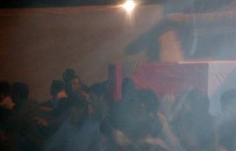 بالصور .. الأهالي يودعون شهيد القوات المسلحة بالجيزة