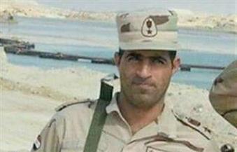 بني سويف تستعد لتشييع جثمان قائد الكتيبة 116 مشاة شهيد الواجب في سيناء