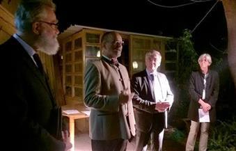 بالصور..السفير الألماني يشهد عرضًا مسرحيًا بمركز البحارة الألمان بالإسكندرية