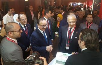 وزير الاتصالات يفتتح فعاليات الدورة الرابعة للمؤتمر والمعرض السنوي لغرفة صناعة تكنولوجيا المعلومات
