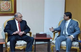 السفير الهندي لإسماعيل: حريصون على تنمية علاقات التعاون الاقتصادي مع مصر