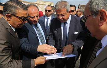 وزير الرياضة ومحافظ الإسكندرية  يتفقدان الفرع الاجتماعى لنادى الاتحاد