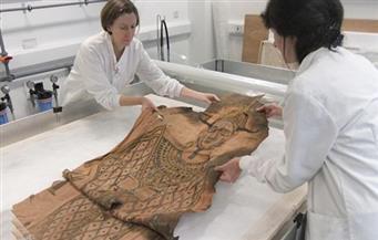 """عمره 2000 عام.. اكتشاف """"كفن مصري"""" في مخزن المتحف الوطني في إسكتلندا"""