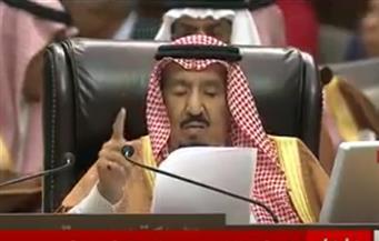 الملك سلمان: أطالب بإيجاد حل سياسى ينهى المآساة الإنسانية في سوريا
