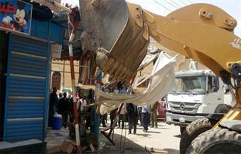 إزالة 19 حالة تعدٍ على أراضي أملاك الدولة بمركزي أبوتيج والغنايم