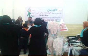 توزيع 300 كيلو لحوم وأجهزة كهربائية وأثاث منزلي على الأسر الأولى بالرعاية بالزقازيق