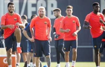 عودة بيكيه والبا وانيستا وبوسكيتس وأومتيتي لتدريبات برشلونة استعدادًا لمواجهة غرناطة