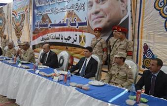 قبائل سيناء تنظم مؤتمرًا جماهيريًا لدعم  القوات المسلحة في حربها ضد الإرهاب وتنميه أرض الفيروز