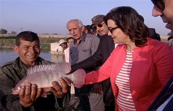 بالصور..  منى محرز في  الشرقية:  إعداد خريطة صنفيه للأسماك يستفيد منها راغبو الاستثمار في هذا المجال
