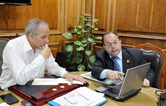 """""""عشماوي"""" يعقد اجتماعًا مع وكيل """"صحة القليوبية"""" لمناقشة أوضاع المنظومة الصحية"""
