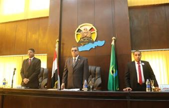 بالصور.. برلمان الطلائع يوجه دعوة للرئيس السيسي لعقد مؤتمر للشباب بالفيوم