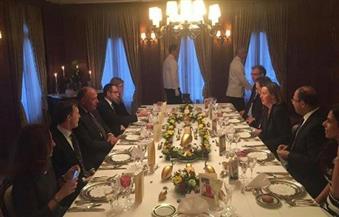 وزير الخارجية يلتقي الممثلة العليا للشئون الخارجية والسياسة الأمنية للاتحاد الأوروبي