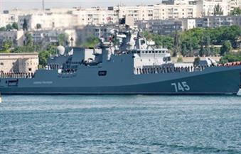 """انضمام فرقاطة """"الأميرال جريجوروفيتش"""" إلى مجموعة السفن الروسية المرابطة في البحر المتوسط"""