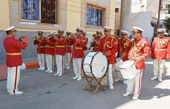 محافظ سوهاج يشهد عروض الفرقة الموسيقية للمنطقة الجنوبية العسكرية