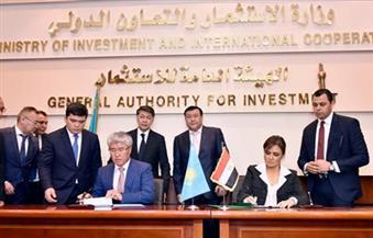 """سحر نصر: اتفاقات مع """" كازاخستان"""" على التعاون في توريد النفط والعاصمة الإدارية الجديدة ومصنع مشترك للأدوية"""