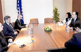 السفير المصري في سراييفو يلتقى رئيس الوزراء البوسني