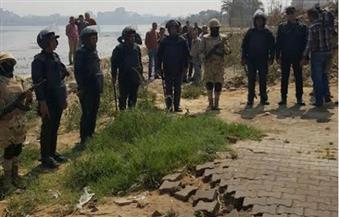 بالصور.. الأمن يواصل حملاته لإزالة التعديات على نهر النيل