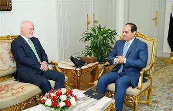 السيسي يستقبل رئيس الجمعية العامة للأمم المتحدة ويؤكد حرص مصر على إرساء دعائم السلم والأمن والاستقرار