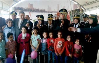 بالصور.. نادي الشرطة في الجيزة يحتفل بيوم اليتيم